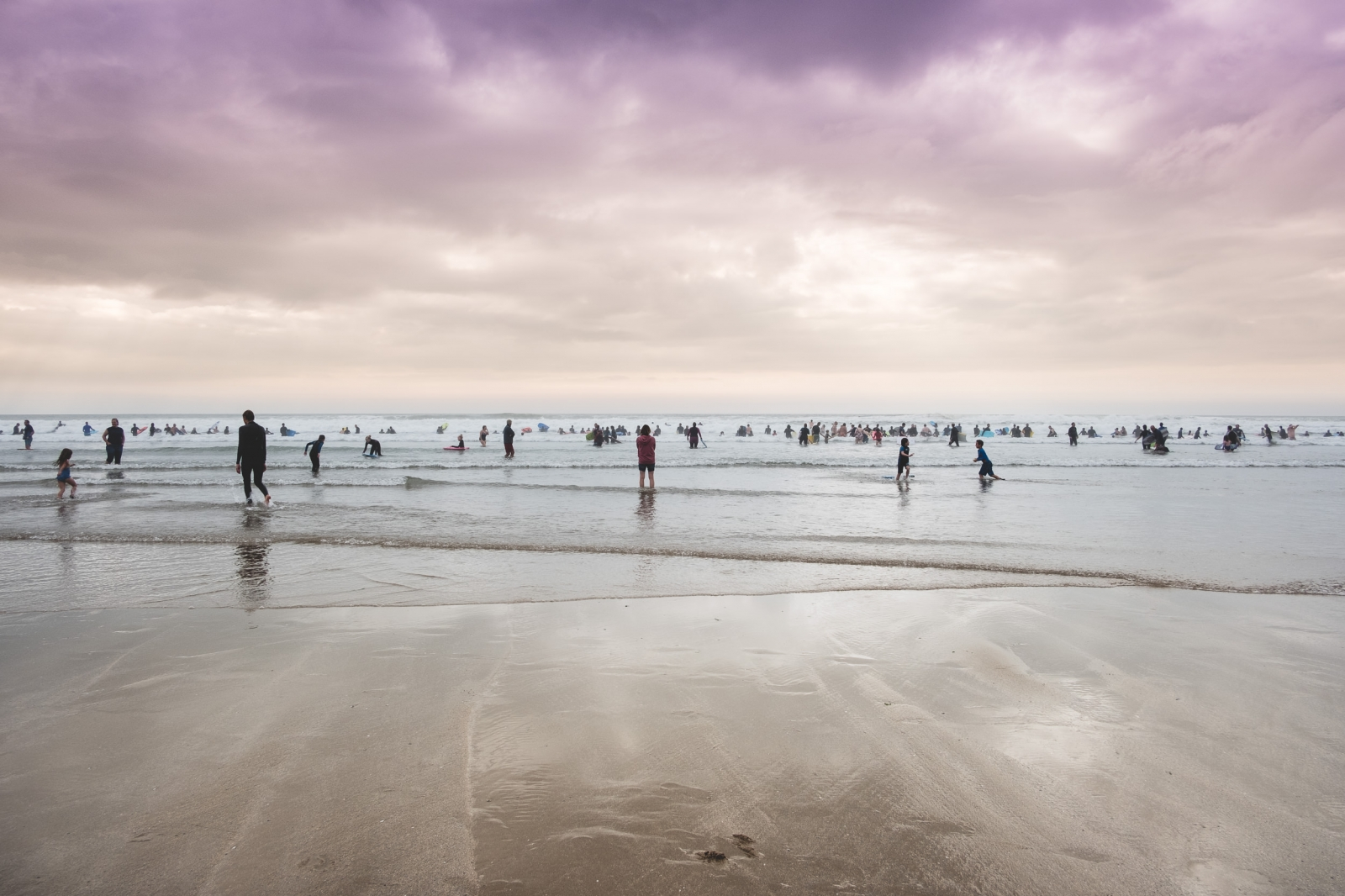 THe Beach at Croyde By Landscape Photographer Mike Riley